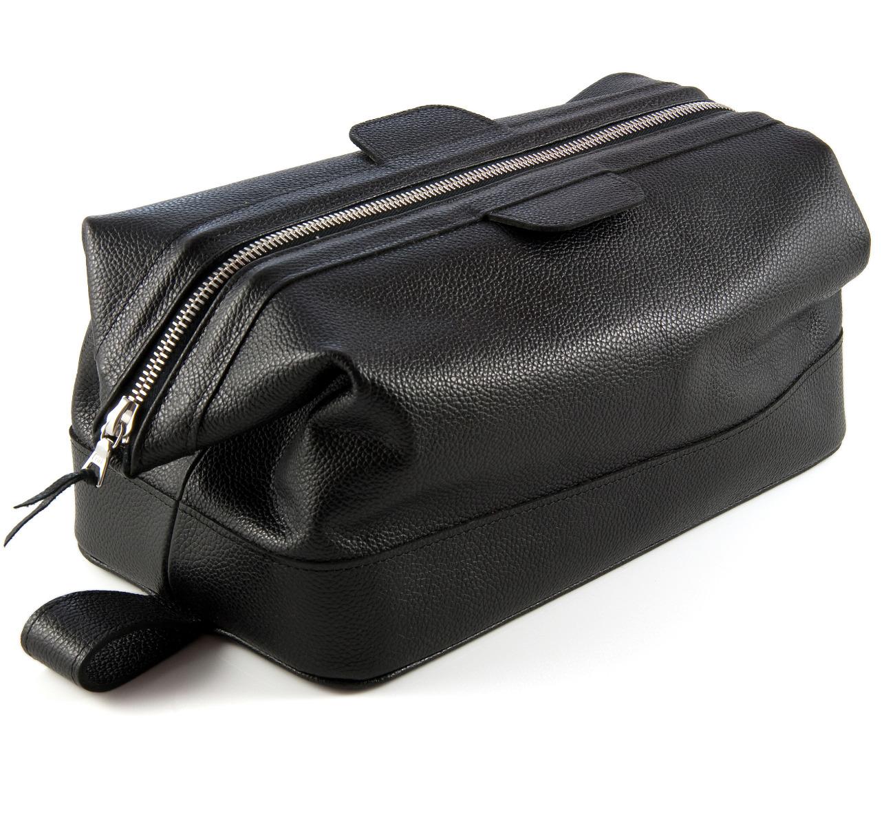 Daines and Hathaway Earth Black Wash Bag