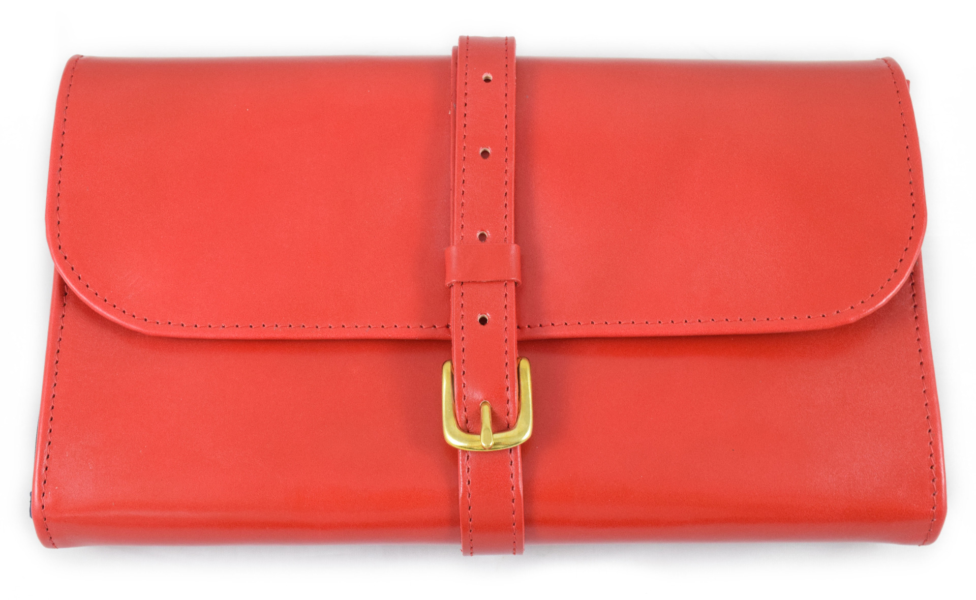 Daines and Hathaway Bridle Red Military Wet Pack