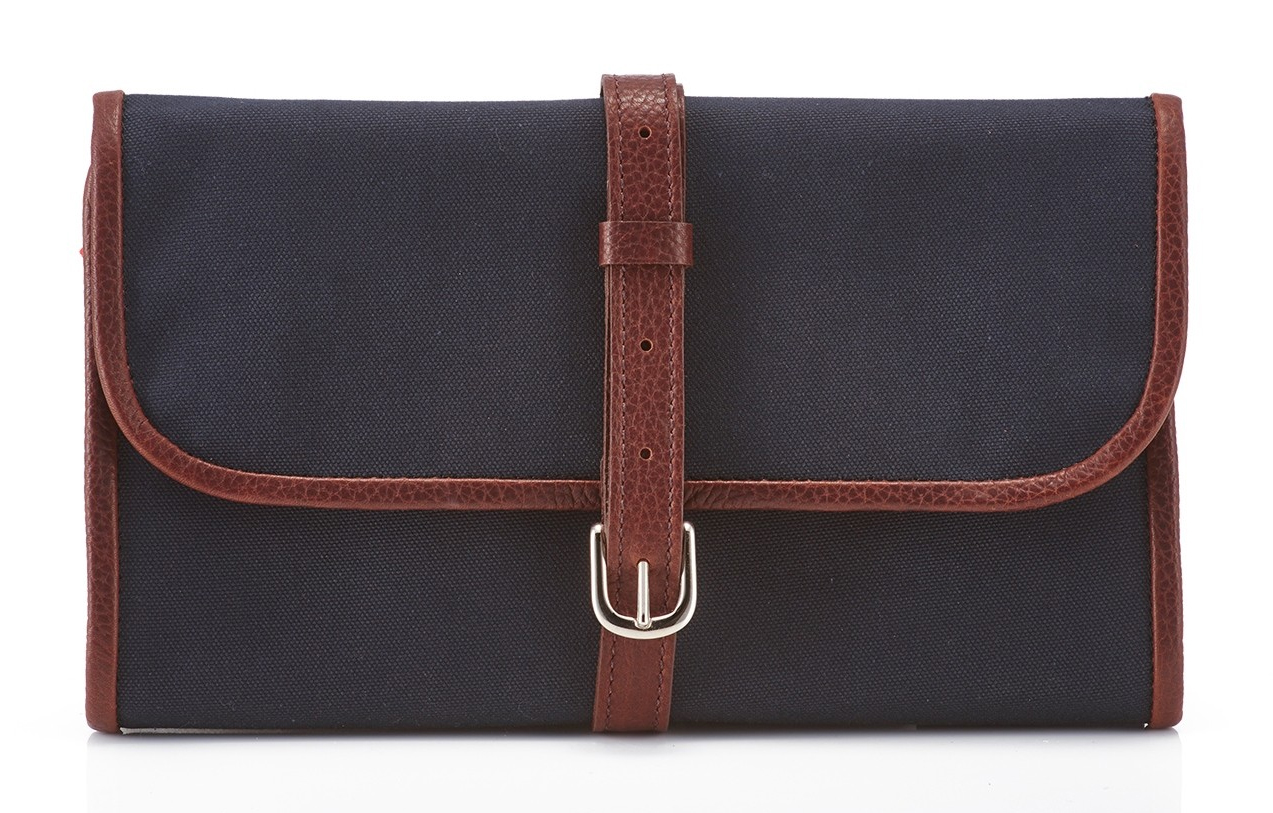 Daines and Hathaway Navy Canvas Military Wet Pack