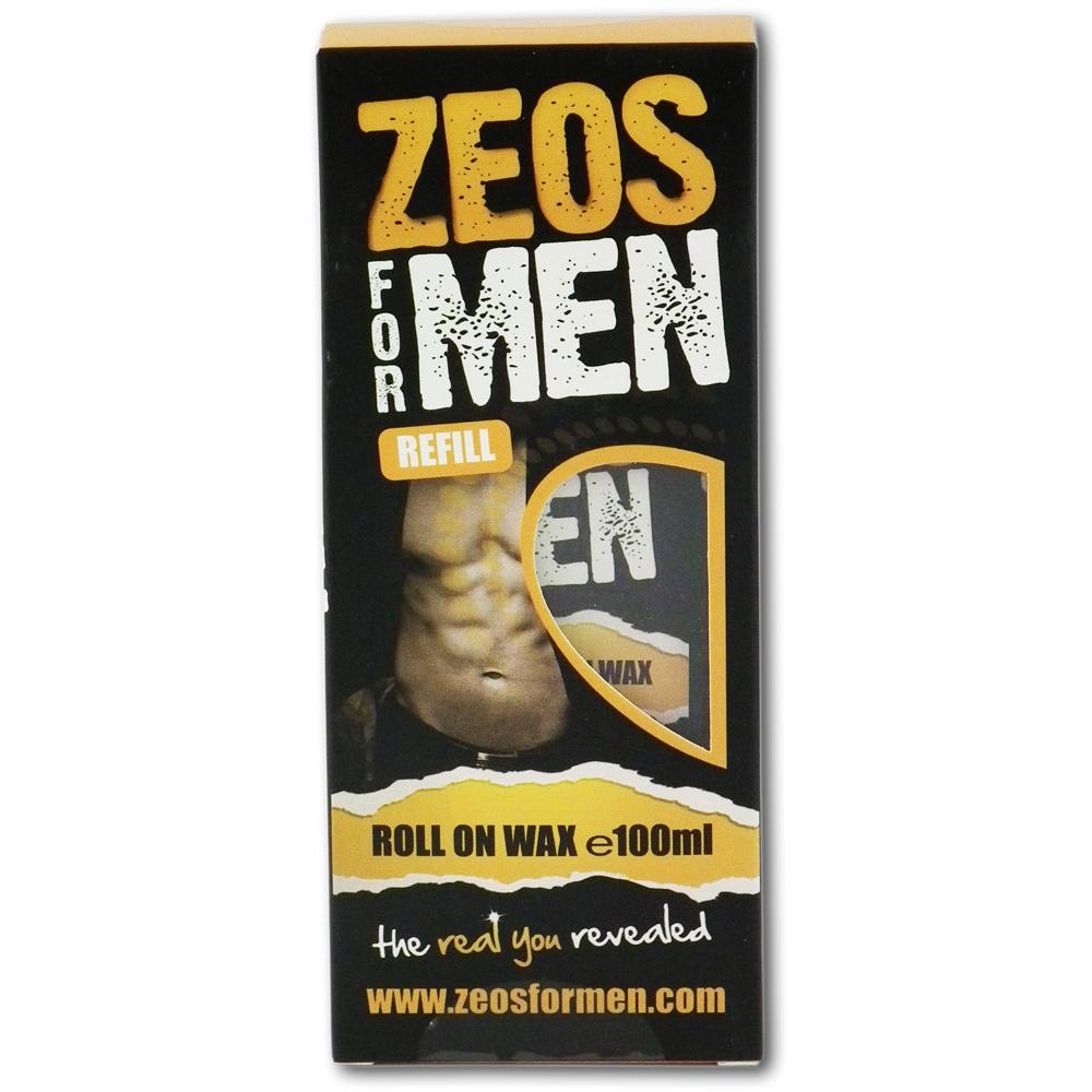 Zeos For Men Roll on Wax Refill (100ml)