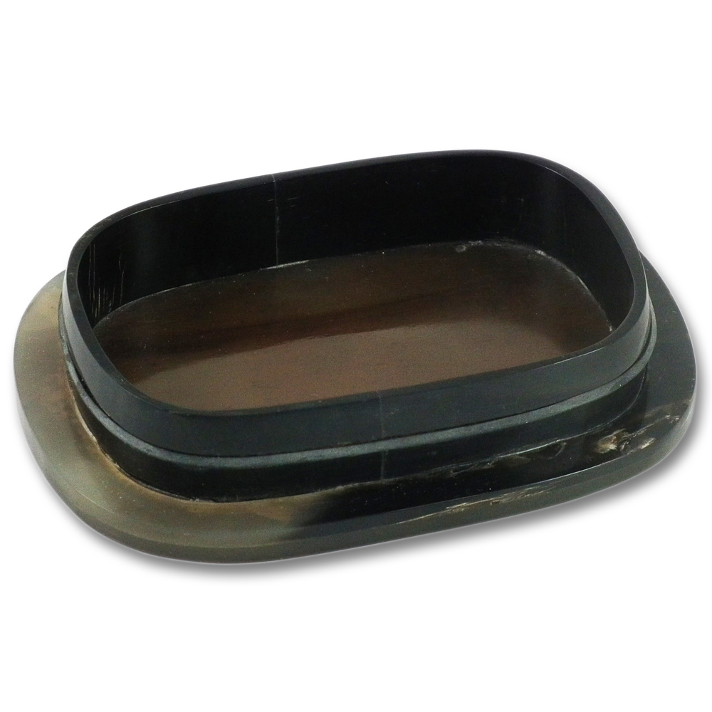 Hans Kniebes Real Horn Soap Dish