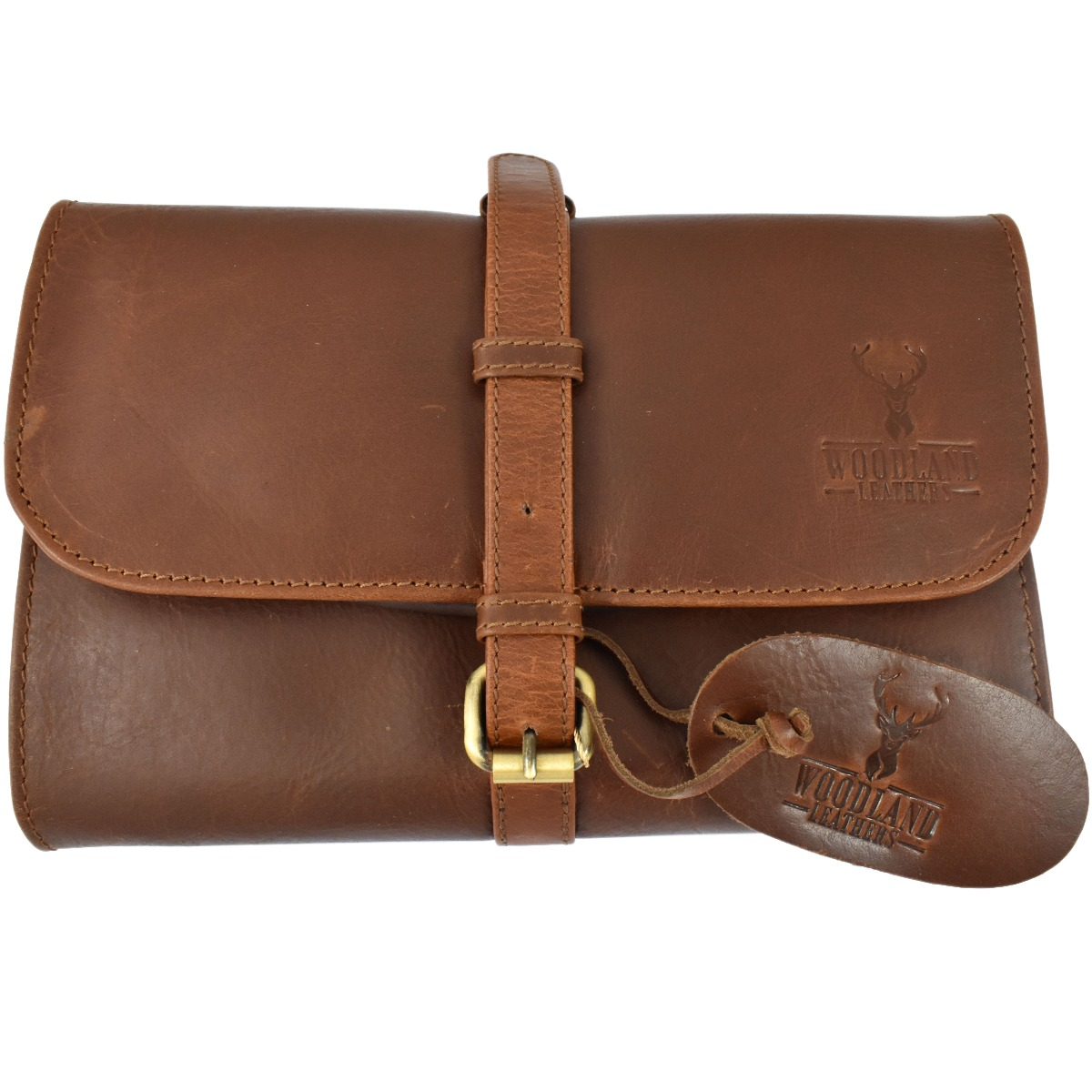Woodland Leathers Chestnut Leather Military Wet Pack Kit