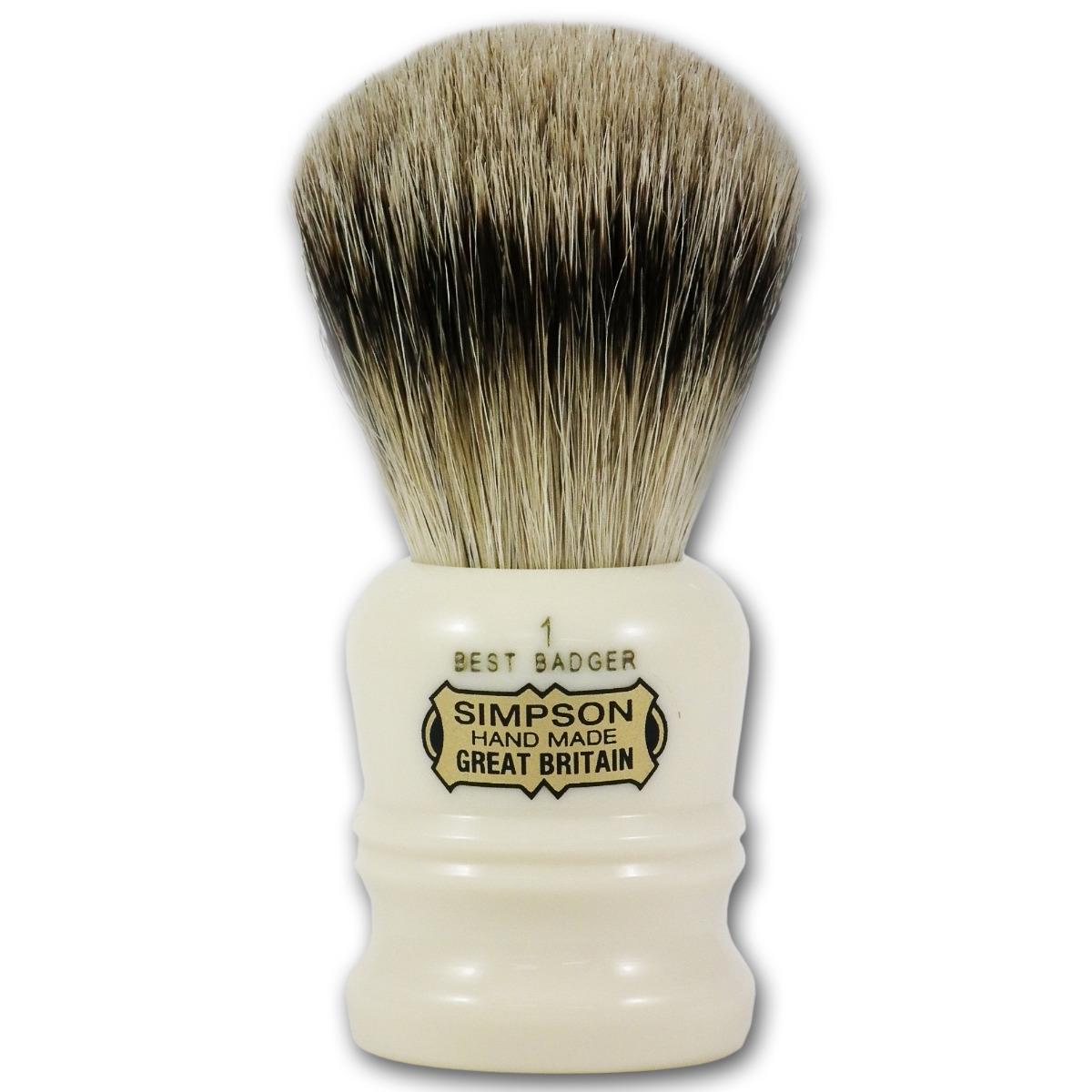 Simpsons Duke 1 Best Badger Hair Shaving Brush