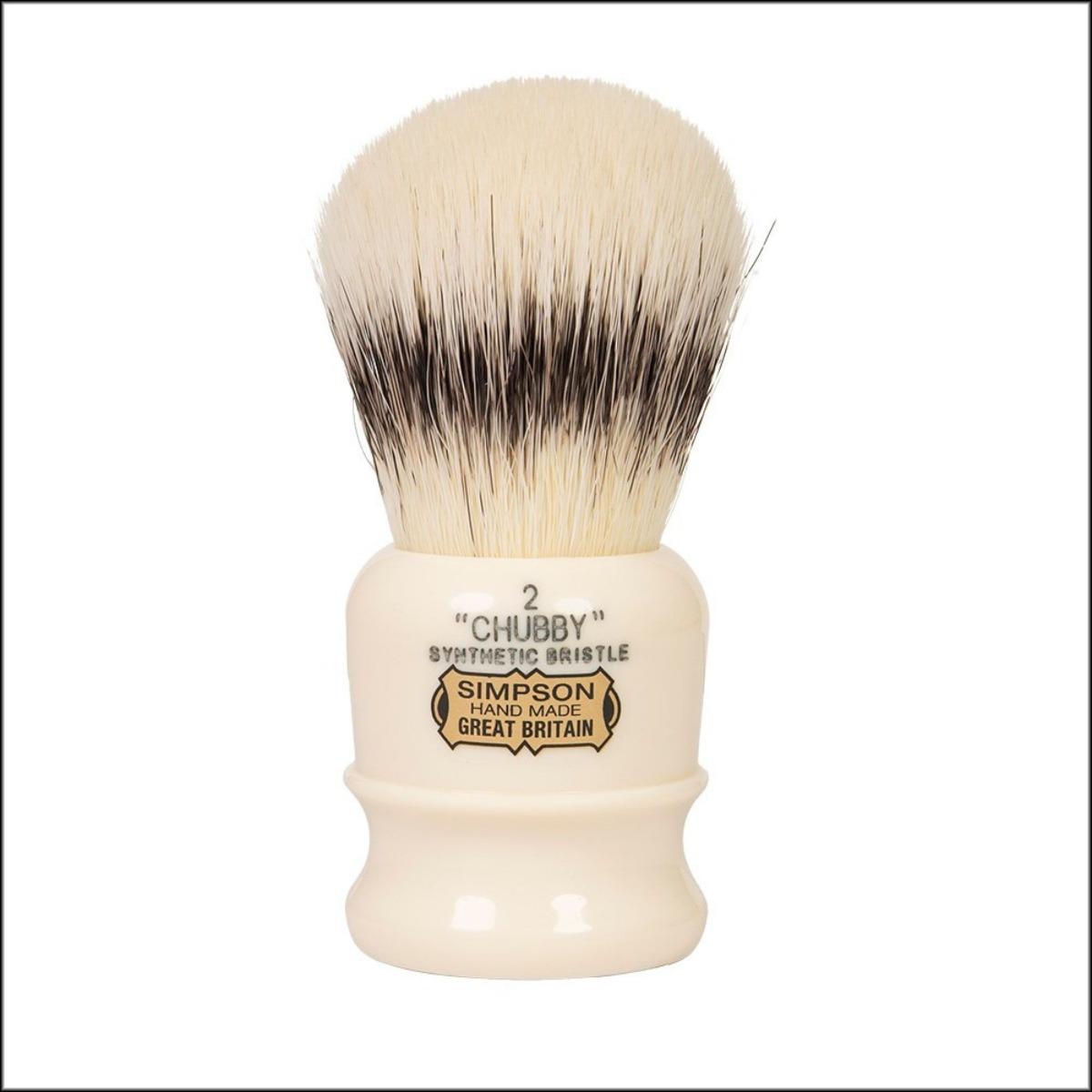 Simpson Chubby 2 Synthetic Shaving Brush