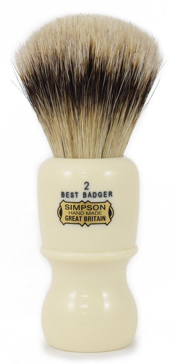 Simpson Captain Best Badger Hair Shaving Brush