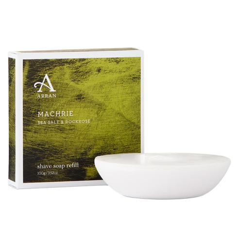 Arran Machrie Sea Salt and Rockrose Shaving Soap Refill 100g