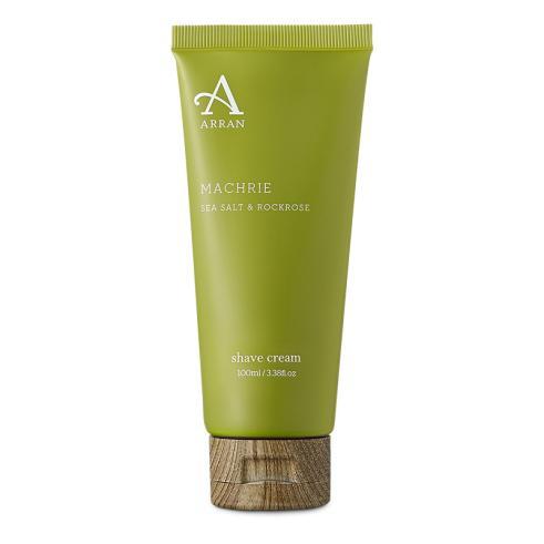 Arran Machrie Sea Salt and Rockrose Shave Cream Tube 100ml