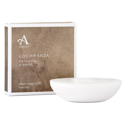 Arran Lochranza Patchouli and Anise Shaving Soap Refill 100g