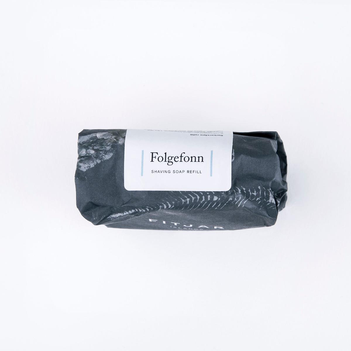 Fitjar Islands Folgefonn Shaving Soap 100g Refill