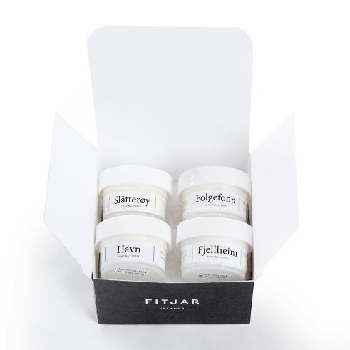 Fitjar Islands Island Hopping Shaving Cream Sample Set 4 x 20ml