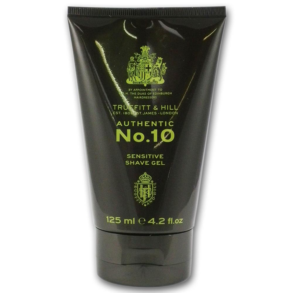 Truefitt and Hill No.10 Sensitive Skin Shaving Gel 125ml
