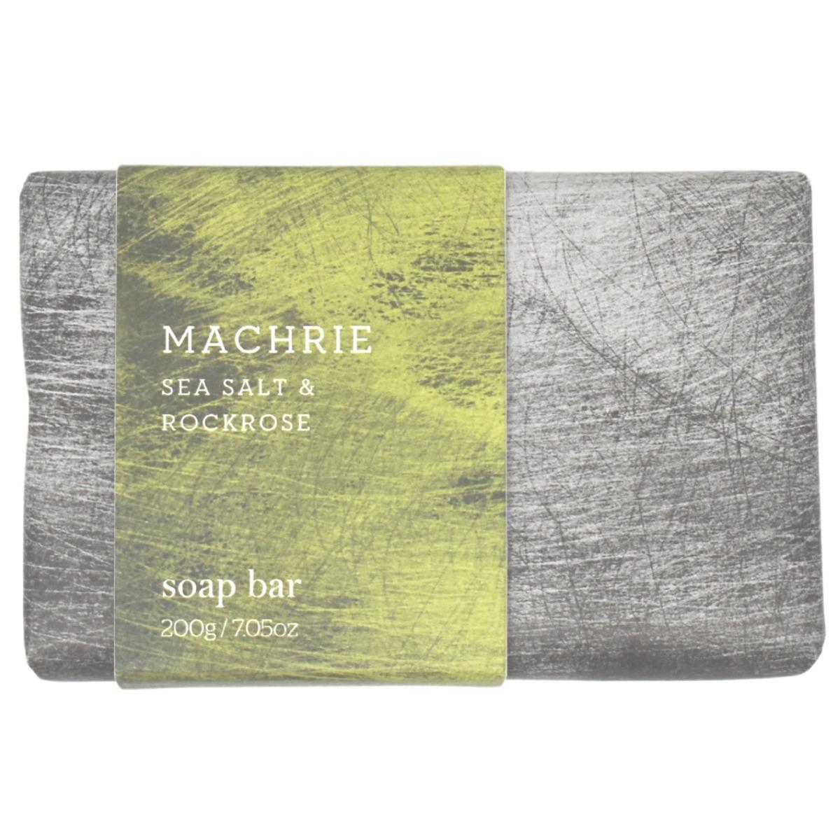 Arran Machrie Sea Salt and Rockrose Soap Bar in Tin 200g
