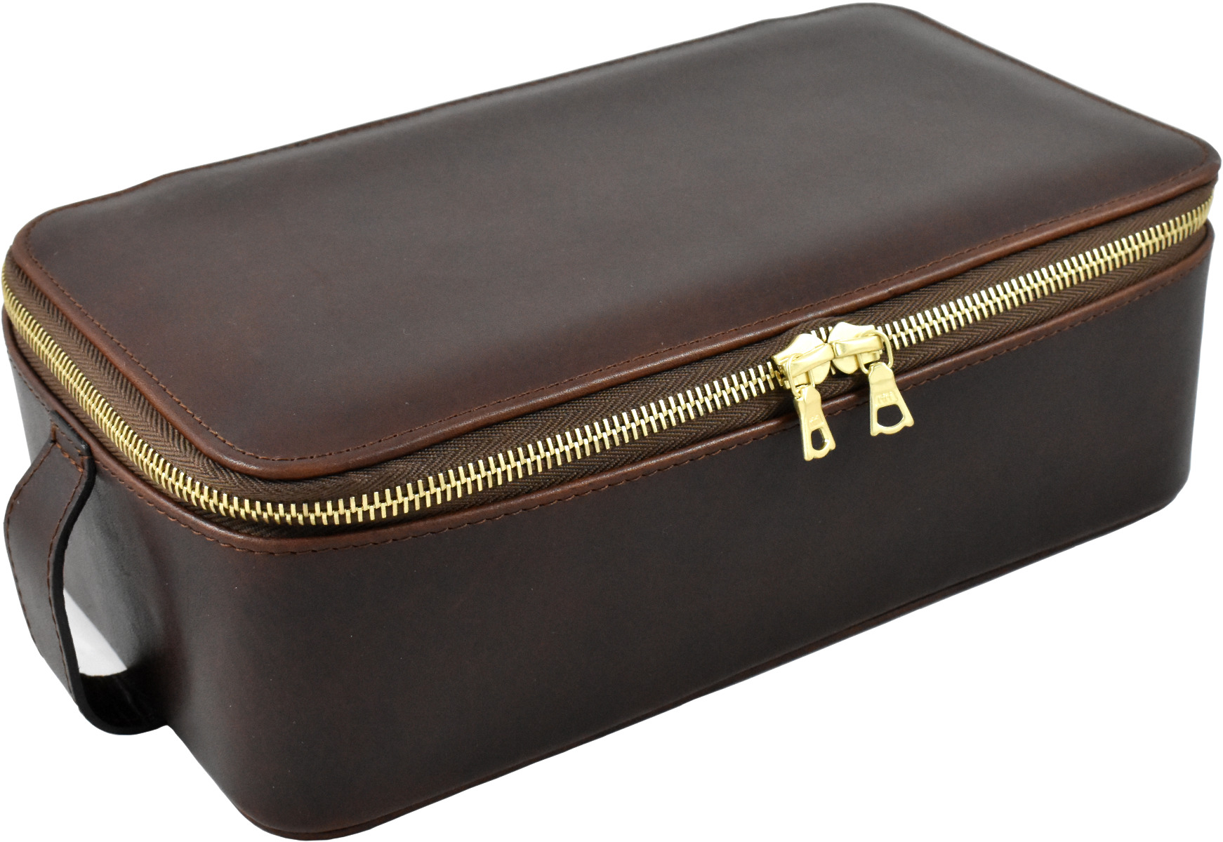 Daines And Hathaway Leather Brooklyn Chestnut Box Wet Pack