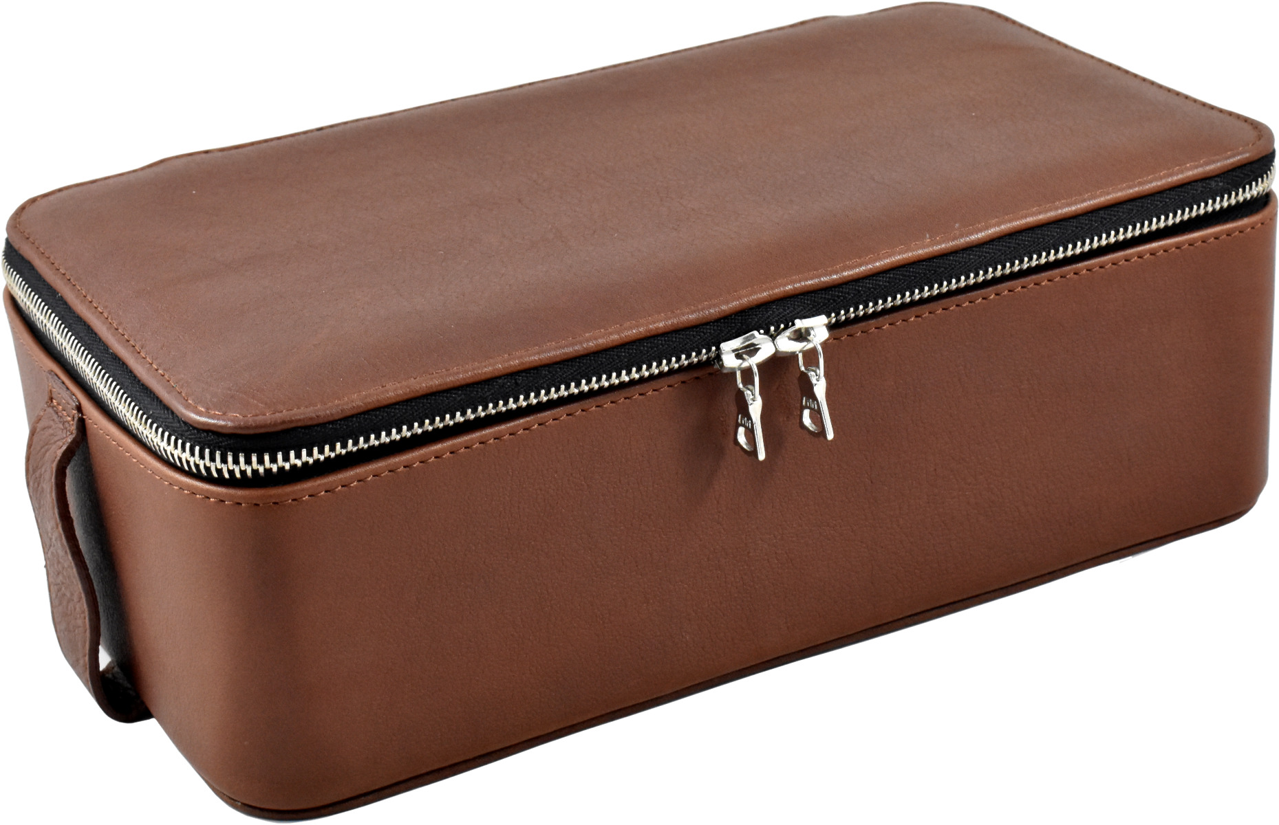 Daines And Hathaway Leather Finsbury Caramelo Box Wet Pack