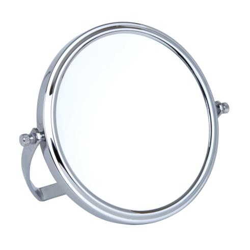 10x Magnification Chrome Travel Mirror