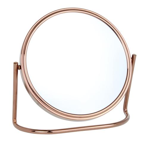 10x Magnification Rose Gold Vanity Mirror