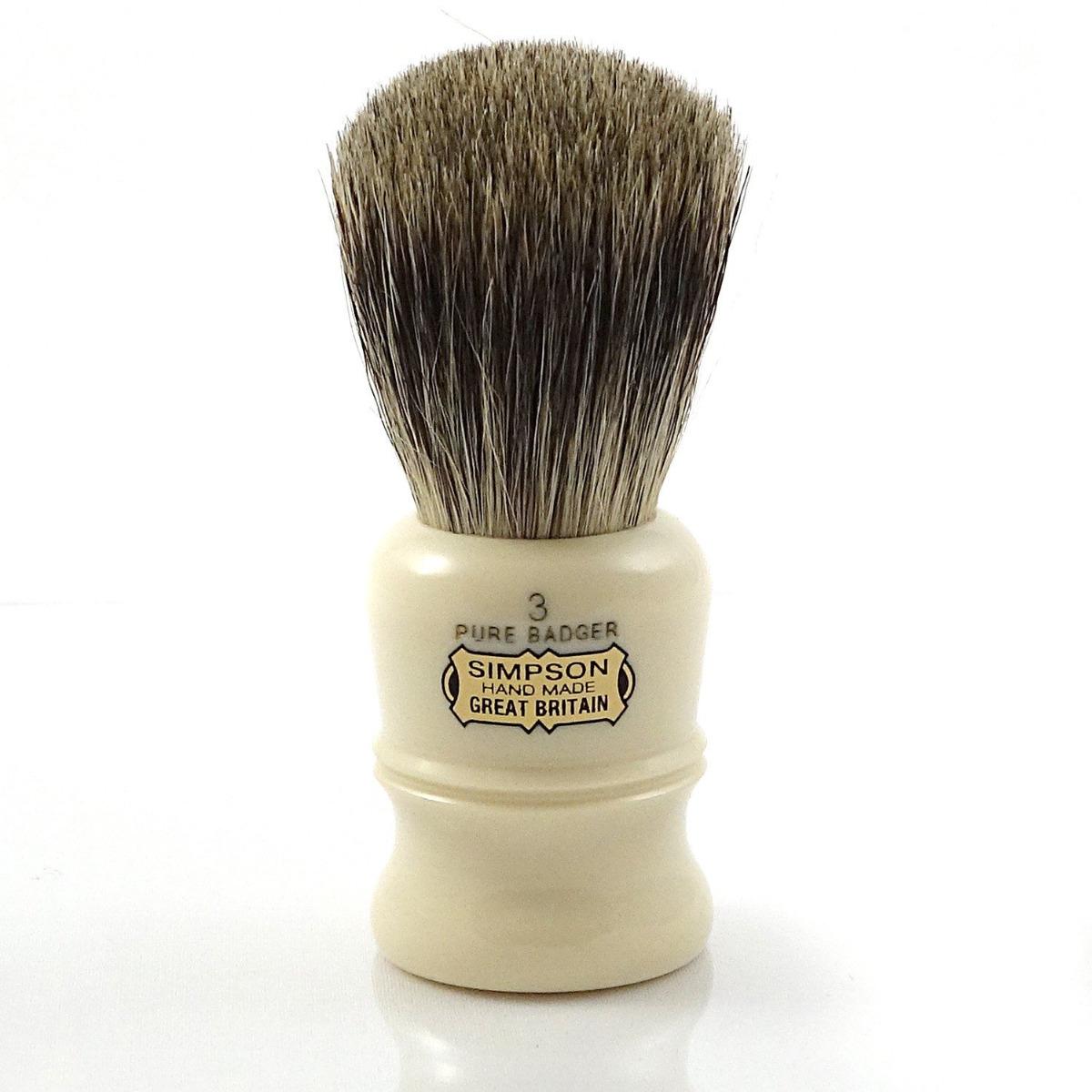 Simpsons Duke 3 Pure Badger Hair Shaving Brush