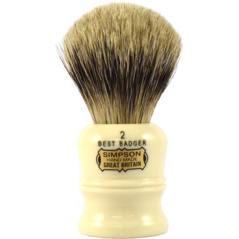 Simpsons Duke 2 Best Badger Hair Shaving Brush