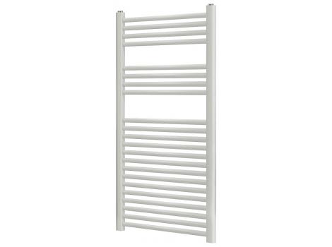 Blyss 489W White Flat Ladder Towel Warmer Bathroom Radiator (H)1100mm (W)500mm