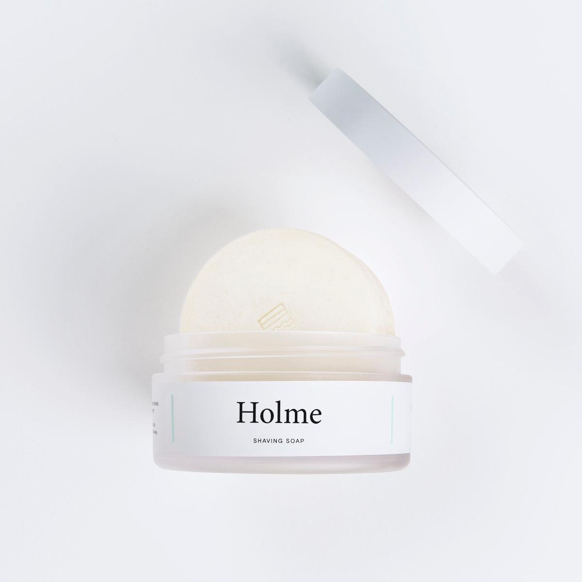 Fitjar Islands Holme Shaving Soap 100g in Plastic Tub