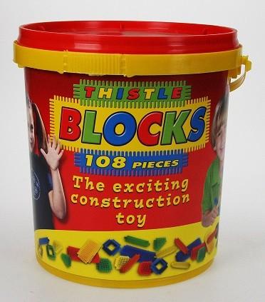 Thistle Blocks Bucket (108 Pieces)