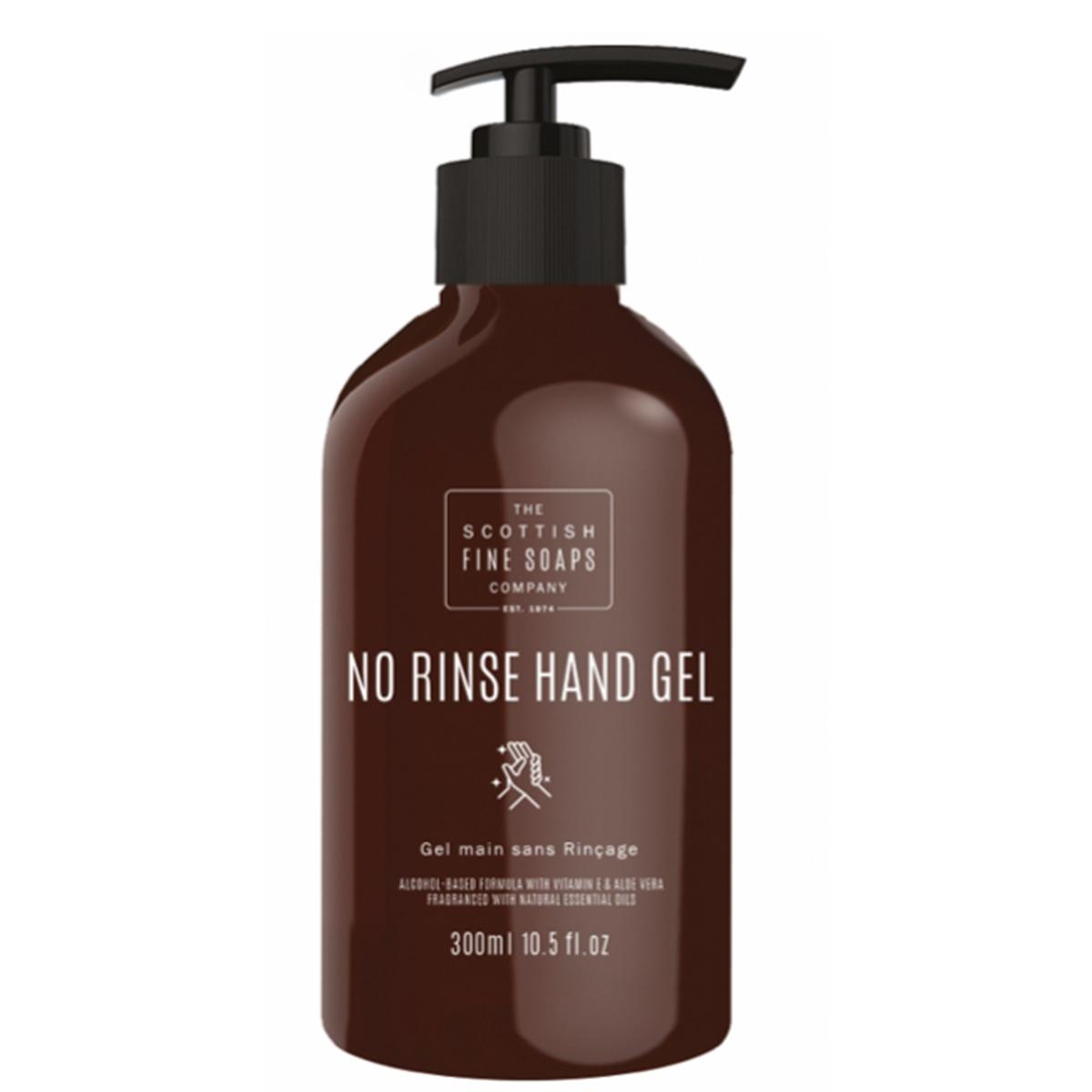 Scottish Fine Soaps No Rinse Moisturising Hand Gel 300ml