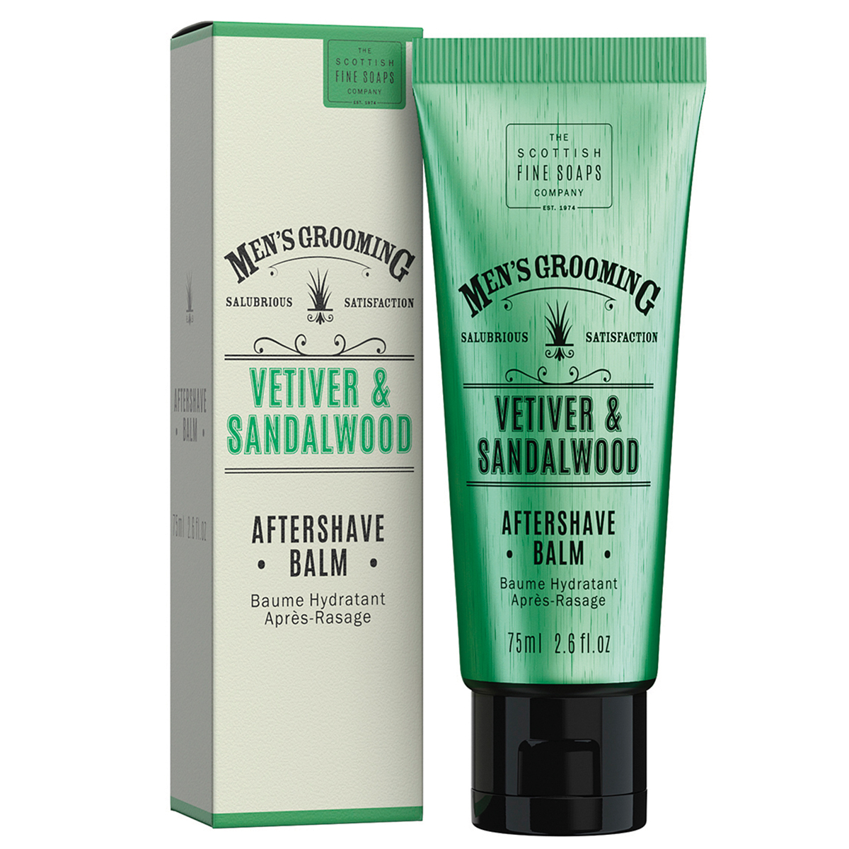 Scottish Fine Soaps Vetiver and Sandalwood Aftershave Balm