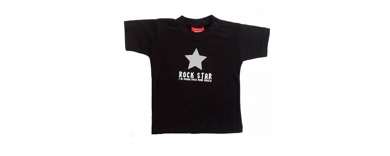 Silly Souls Rock Star Tee Shirt Size 12 -18 months