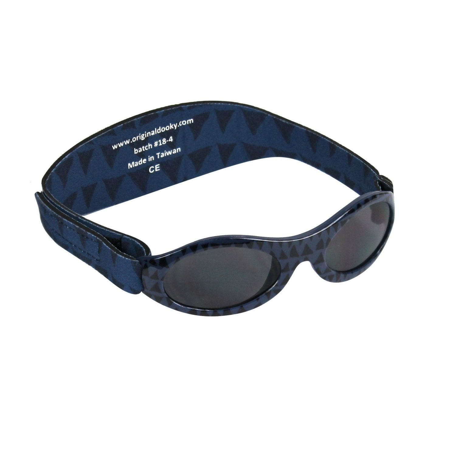 Dooky Baby Banz Baby/Toddler Sunglasses 0-2 years - Blue Tribal