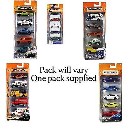 Matchbox City 5 Car Pack (Pack may vary)