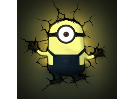 Despicable Me Minions 3D Wall Light (Stuart)