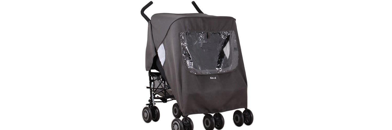 Koo-Di Keep Us Dry Universal Double Stroller Rain Cover