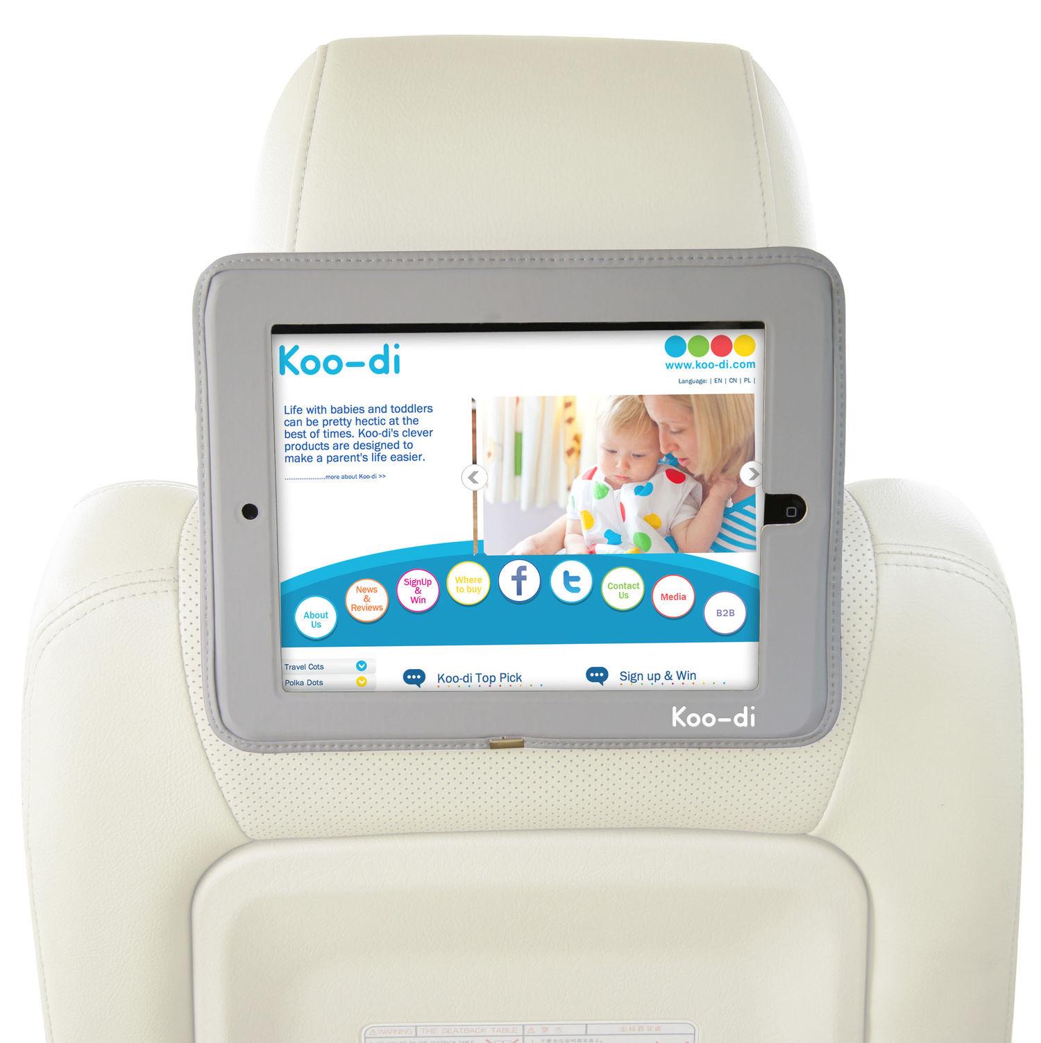 Koo-Di Car Seat iPad Holder