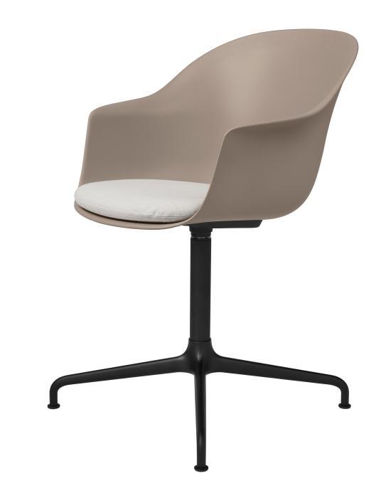 Bat Meeting Chair 4 Star Swivel Base With Cushion
