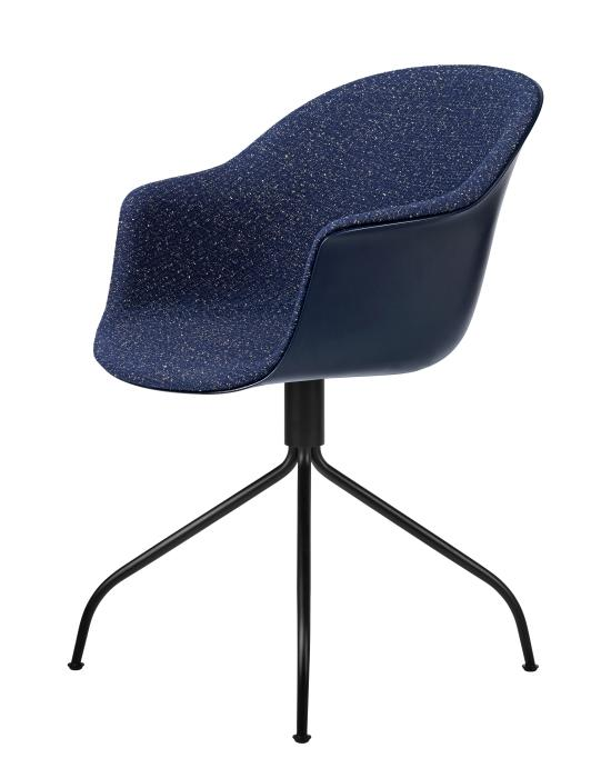 Bat Meeting Chair Swivel Base Front Upholstered