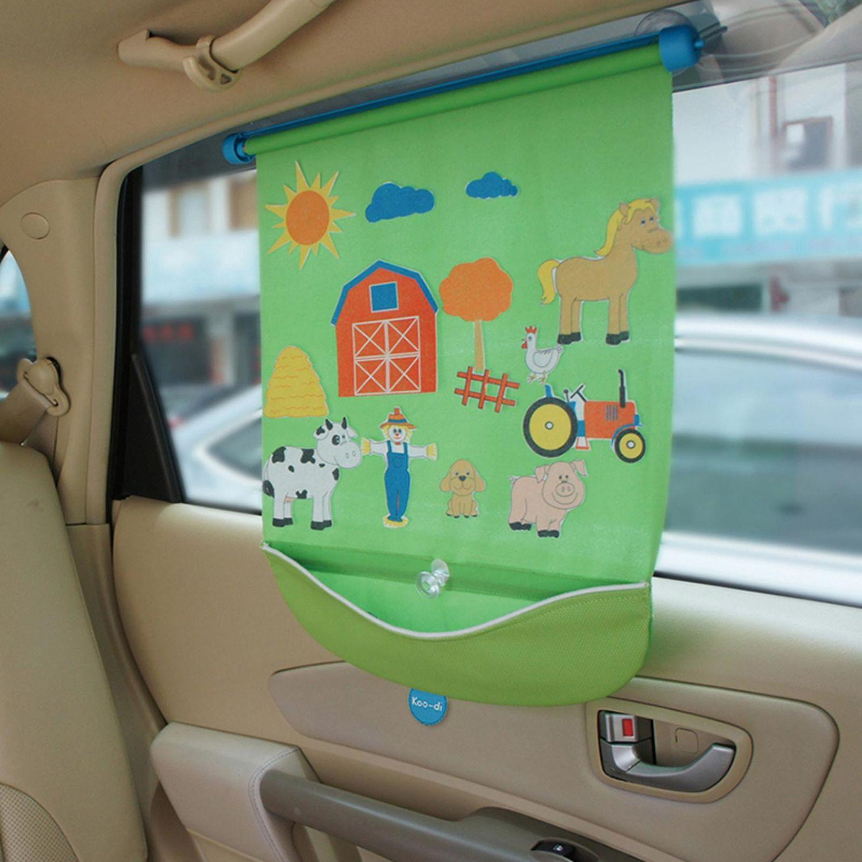 Koo-Di Car Window Fuzzi Fun Blind