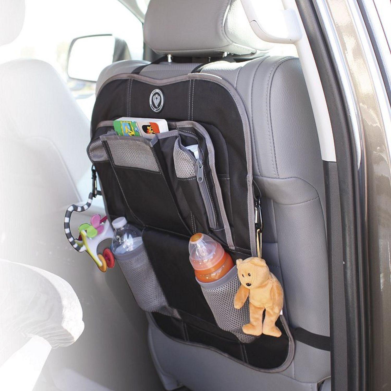 Prince Lionheart Car Back Seat Organiser Grey/Black