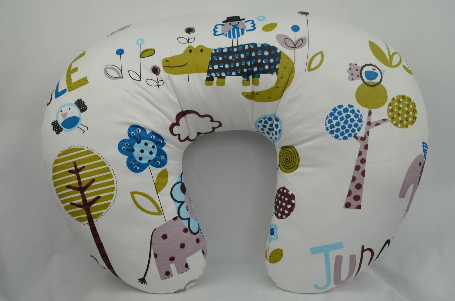 4 in 1 Nursing Support Pillows - Jungle Blue