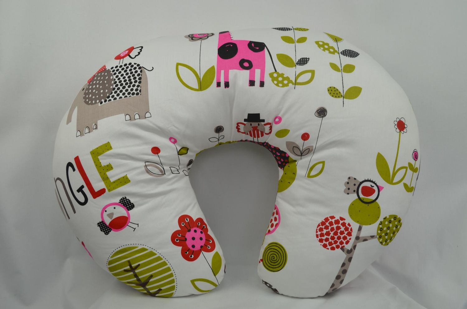 4 in 1 Nursing Support Pillows - Jungle Pink