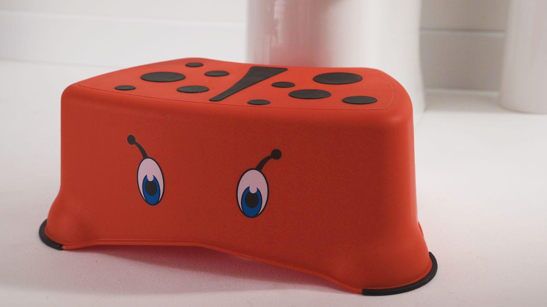 My Little Step Stool - Choose your Design - Ladybird