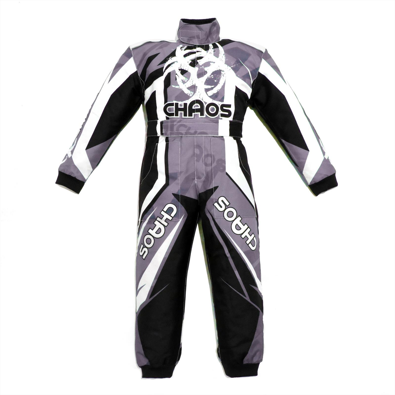 Chaos Toddlers Off Road Motocross Suit Black