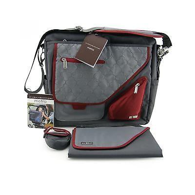 JJ Cole Metra Diaper Bag - Crimson Arbor