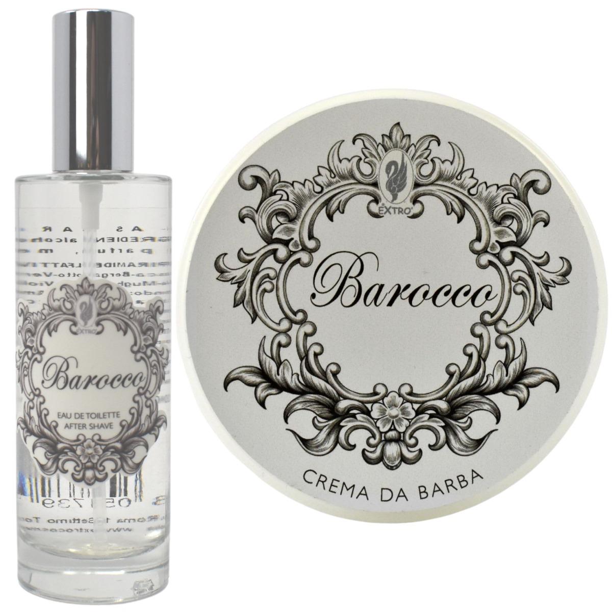 Extro Cosmesi Barocco Shaving Cream & Aftershave Set
