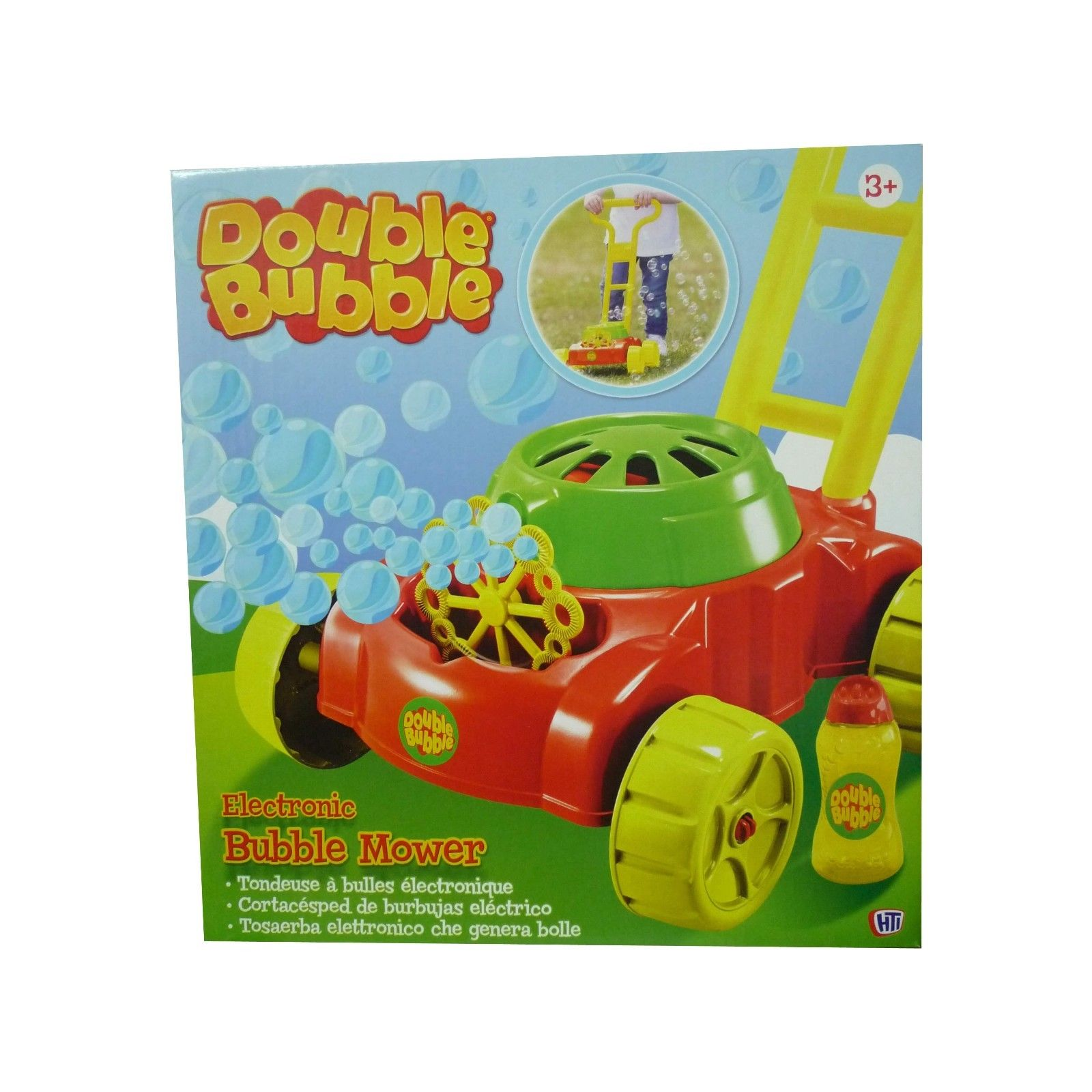 Double Bubble Mower (colours may vary)