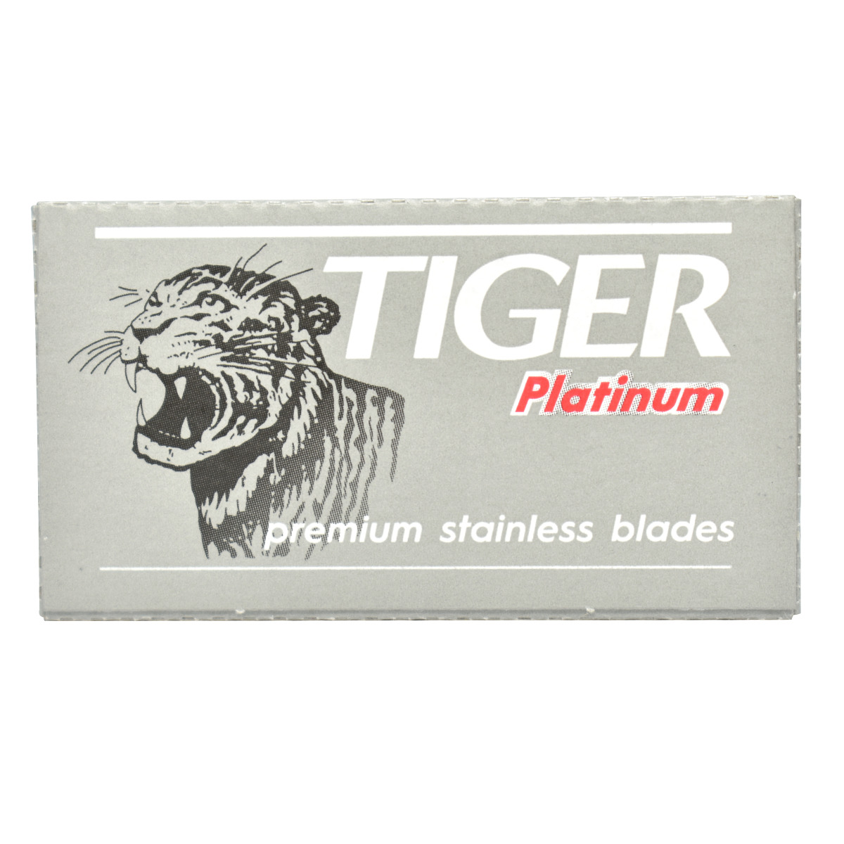 Tiger Platinum Double Edge Safety Razor Blades (x5)