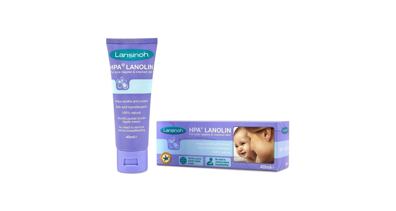 HPA Lanolin Nipple Soothing Cream - 40ml