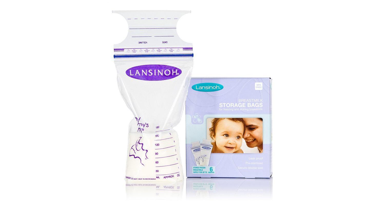 Lansinoh Breast Milk Storage Bags - 25 Pack