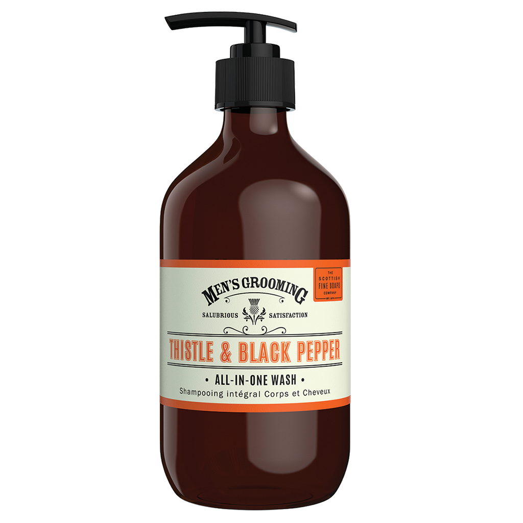 Scottish Fine Soaps Thistle & Black Pepper All-In-One Wash