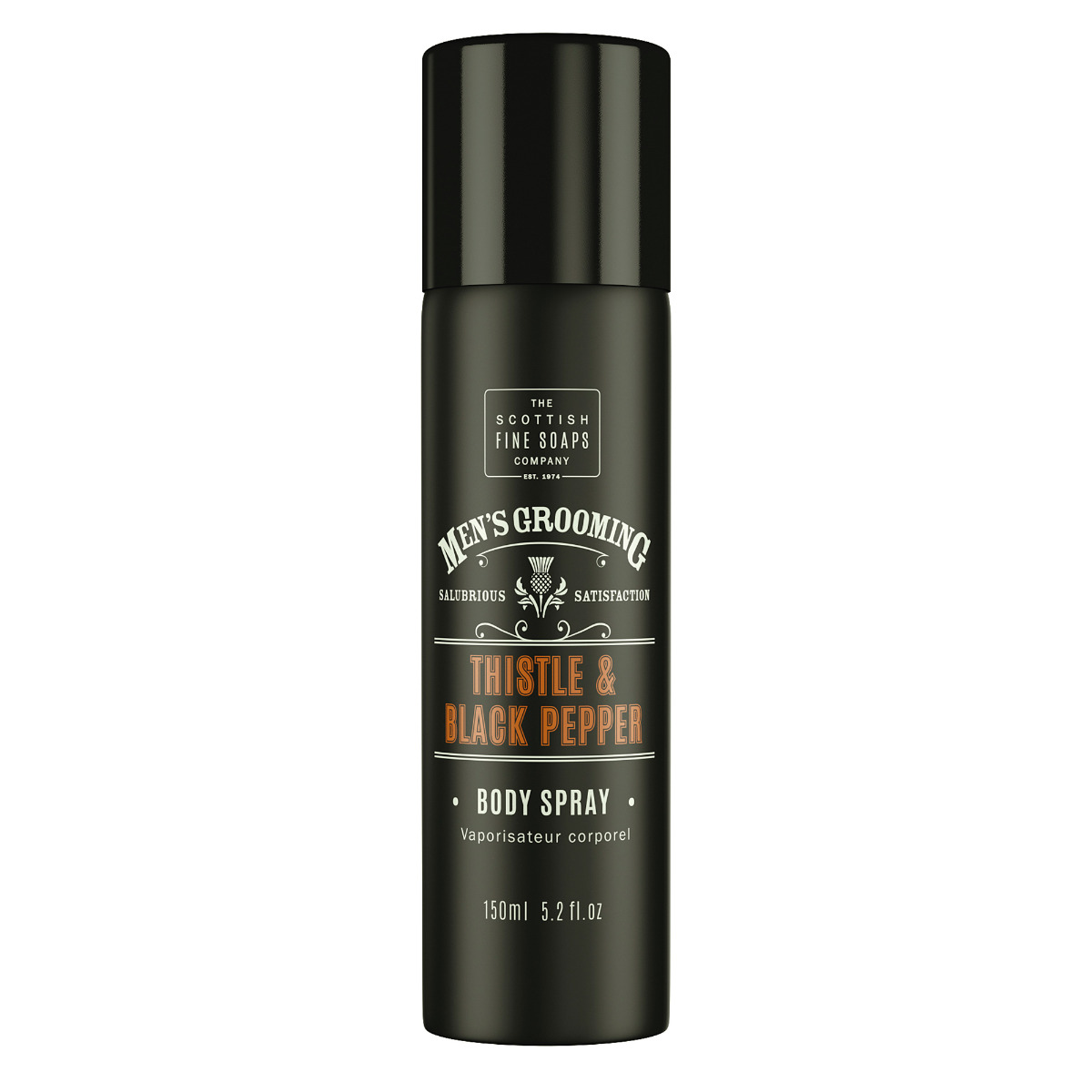 Scottish Fine Soaps Thistle & Black Pepper Body Spray 150ml