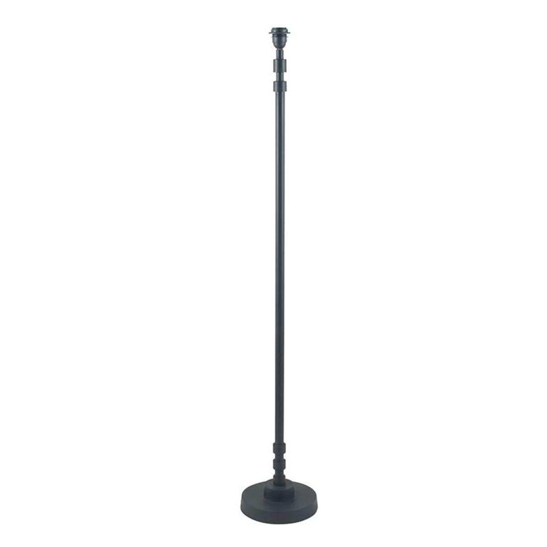 Pacific Lifestyle Pipe Matt Black Stick Floor Lamp Base